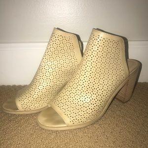 Rebel bootie heels